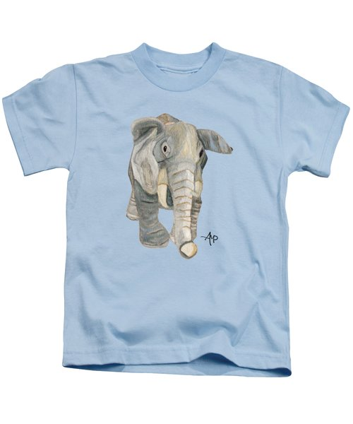 Cuddly Elephant Kids T-Shirt