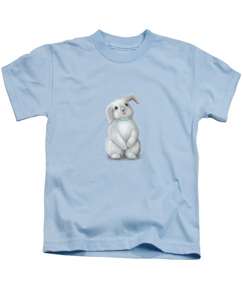 Cute Bunny Boy Kids T-Shirt