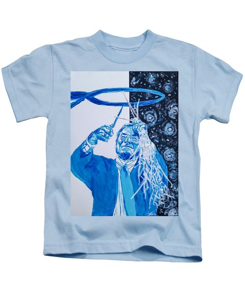 Cutting Down The Net - Dean Smith Kids T-Shirt