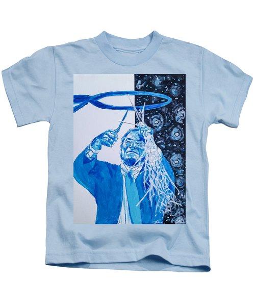 Cutting Down The Net - Dean Smith Kids T-Shirt