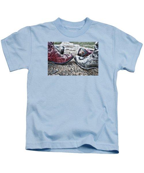 Dancing Boots Kids T-Shirt