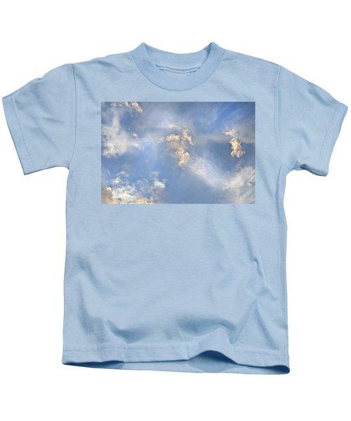 Dancing Clouds Kids T-Shirt