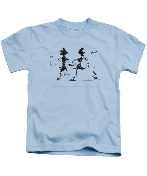 Dancing Couple 3 Kids T-Shirt