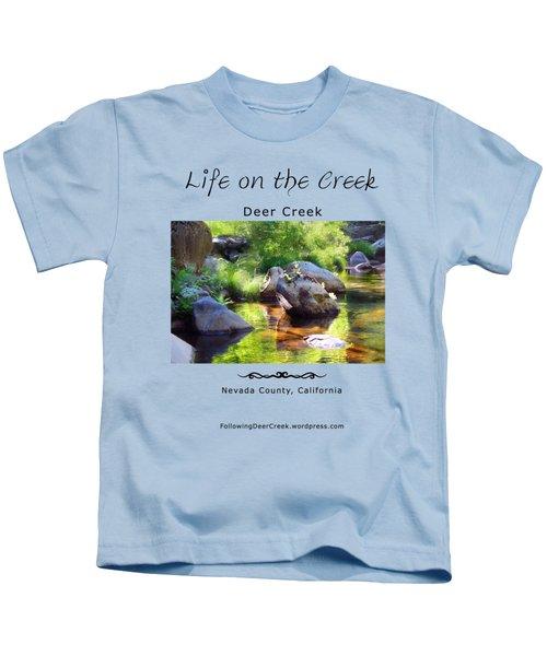 Deer Creek Ferns Kids T-Shirt