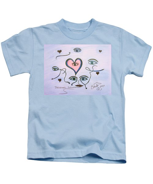 Delusional Enhancement Kids T-Shirt