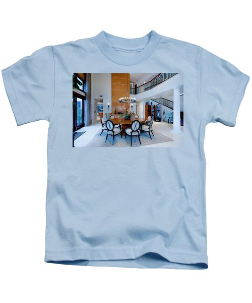 Dining In The Round Kids T-Shirt