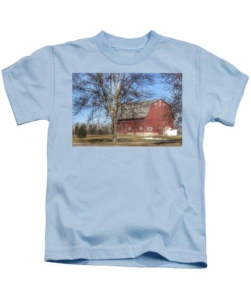 0010 - Dixon Road Red Kids T-Shirt