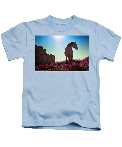 Do Not Take Photos Of Me Kids T-Shirt