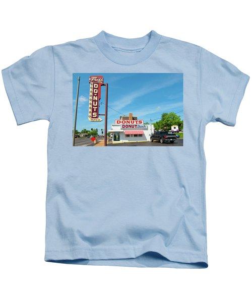 Donut Drive In Kids T-Shirt