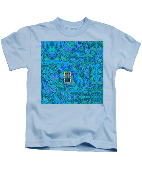 Doorway Into Multi-layers Of Water Art Collage Kids T-Shirt