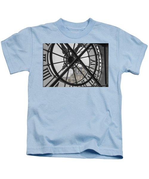 D'orsay Clock Paris Kids T-Shirt