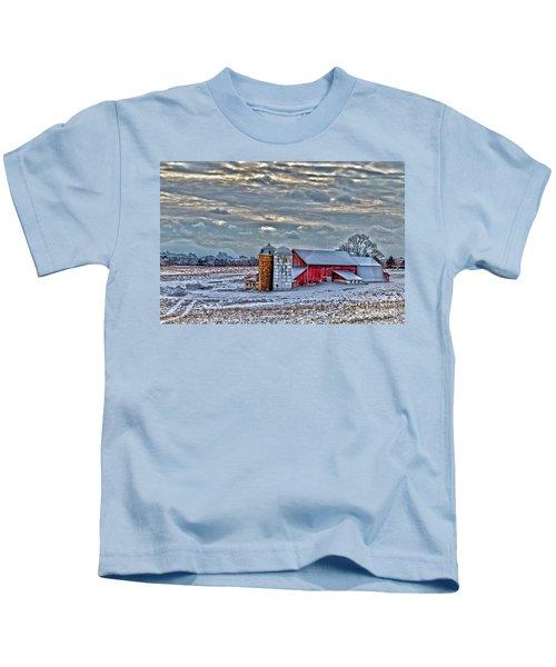 Down On The Farm Kids T-Shirt