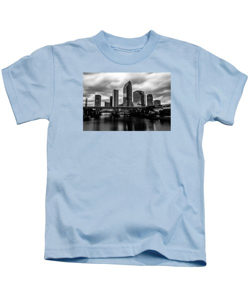 Downtown Tampa Kids T-Shirt