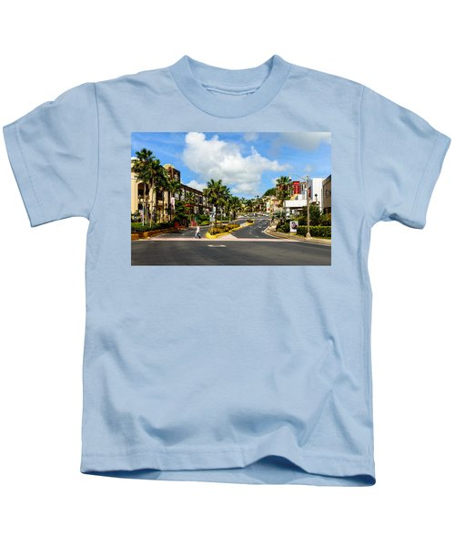 Downtown Tamuning Guam Kids T-Shirt