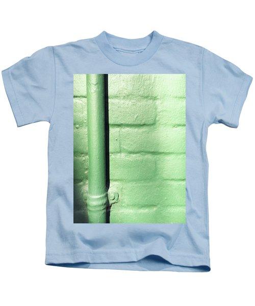 Drainpipe On A Wall Kids T-Shirt