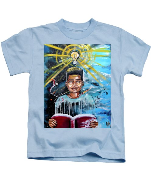 Drenched In Knowledge Kids T-Shirt