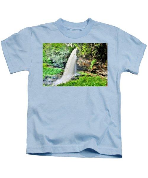 Dry Falls Highlands North Carolina 2 Kids T-Shirt