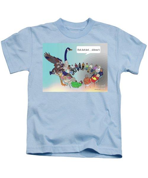 Duck, Duck, Alzheimers Kids T-Shirt