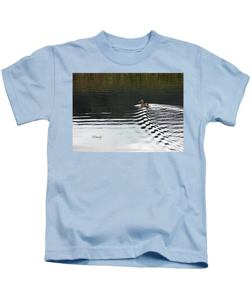 Duck On Ripple Wake Kids T-Shirt