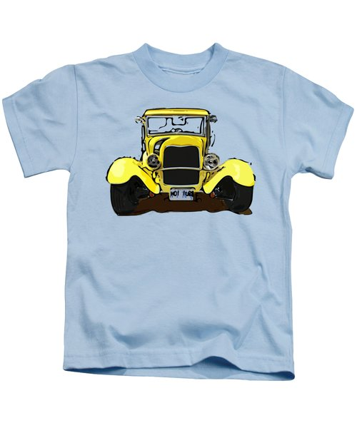 Early 1930s Ford Yellow Kids T-Shirt
