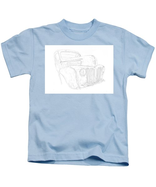 Early Ford Truck Kids T-Shirt