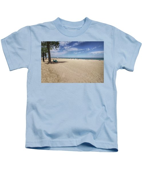 Early Morning Beach Kids T-Shirt