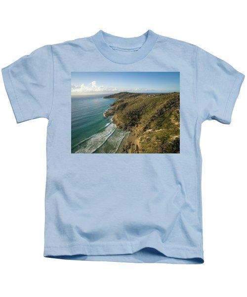 Early Morning Coastal Views On Moreton Island Kids T-Shirt
