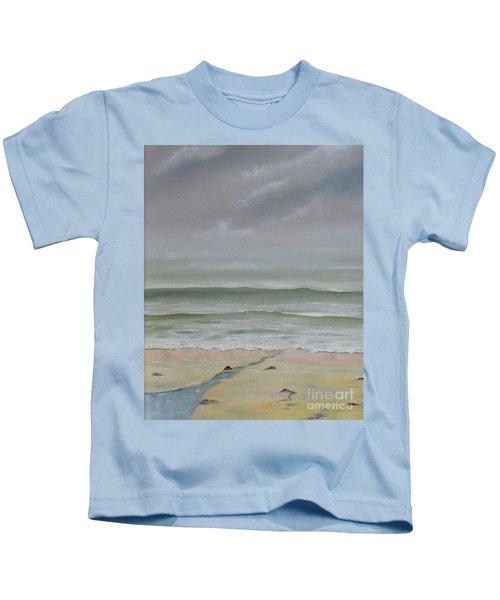 Early Morning Fog Kids T-Shirt