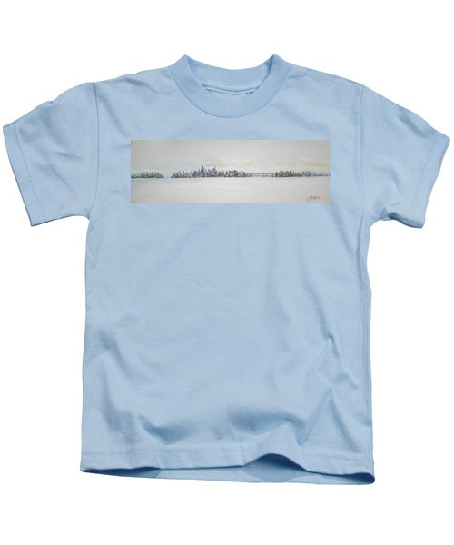 Early Skyline Kids T-Shirt