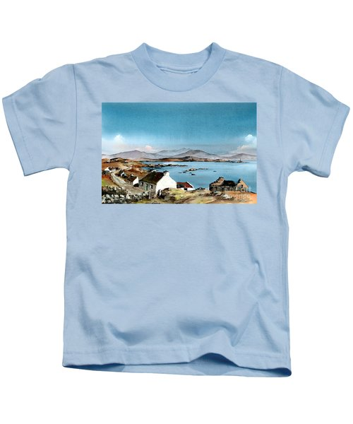 East End, Inishboffin, Galway Kids T-Shirt