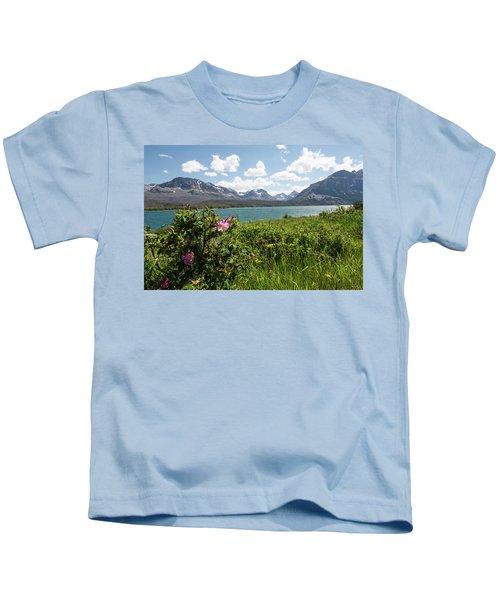 East Glacier National Park Kids T-Shirt