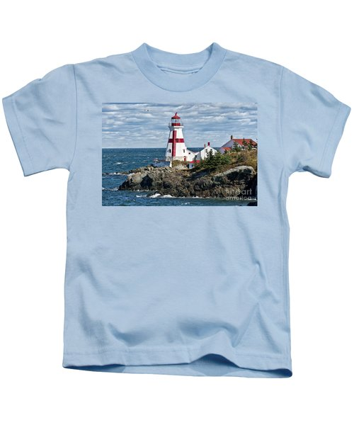 East Quoddy Lighthouse Kids T-Shirt
