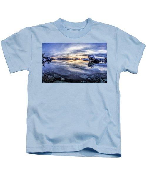 East Shore Sunset Kids T-Shirt