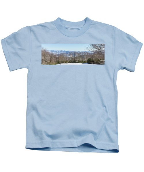 Easterly Winter View Kids T-Shirt