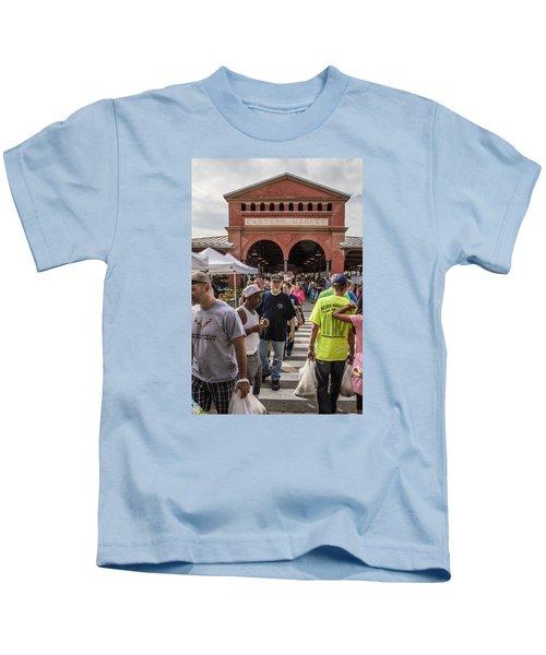 Eastern Market Summer Detroit  Kids T-Shirt