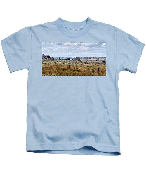 Eastern Wyoming Sky Kids T-Shirt