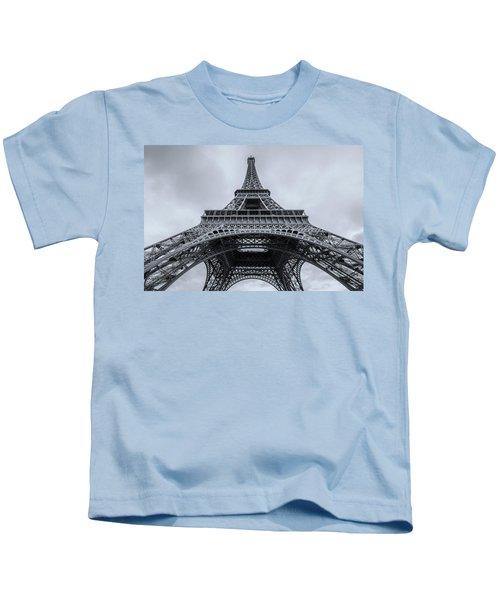 Eiffel Tower 3 Kids T-Shirt