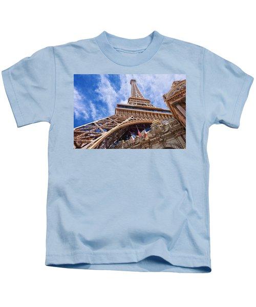 Eiffel Tower Las Vegas  Kids T-Shirt