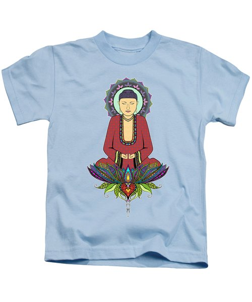 Electric Buddha Kids T-Shirt
