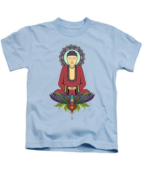 Electric Buddha Kids T-Shirt