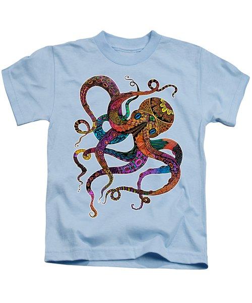 Electric Octopus Kids T-Shirt