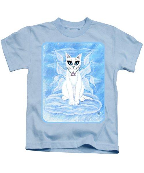 Elemental Air Fairy Cat Kids T-Shirt