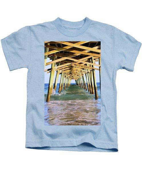Emerald Isles Pier Kids T-Shirt