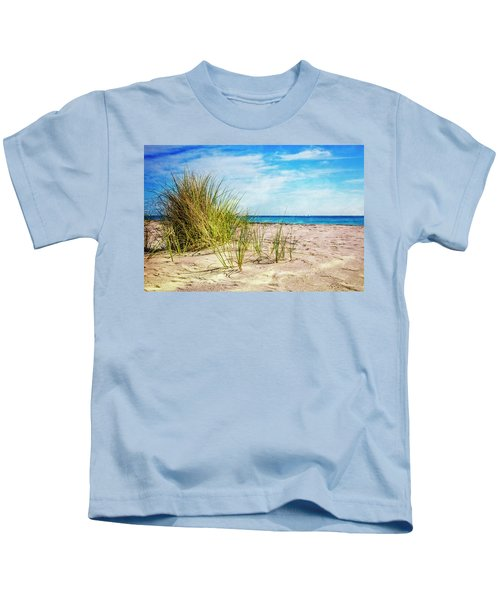 Etchings In The Sand Kids T-Shirt