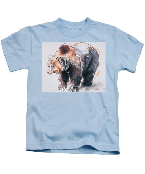 European Brown Bear Kids T-Shirt
