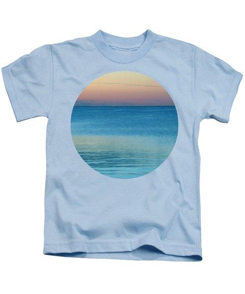 Evening At The Lake Kids T-Shirt