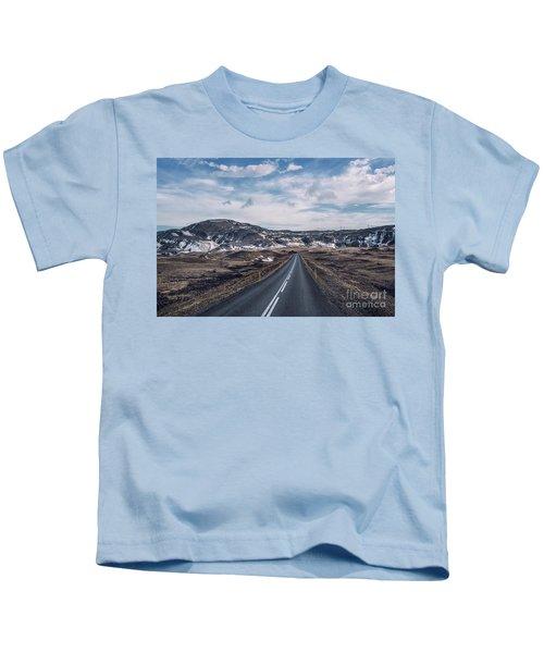 Everywhere My Heart Goes Kids T-Shirt