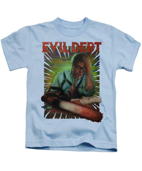 Evil Debt Kids T-Shirt