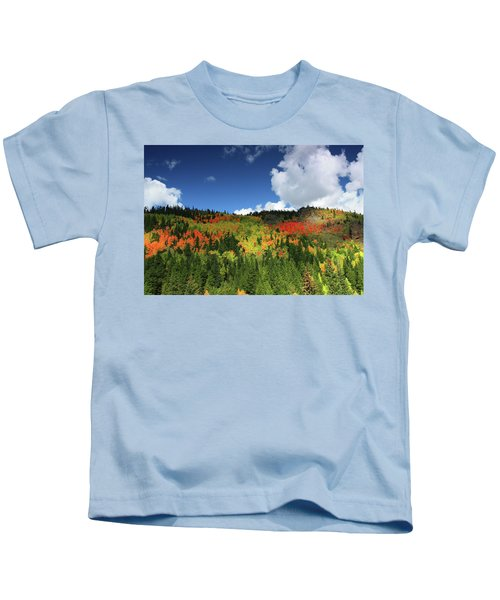 Faafallscene115 Kids T-Shirt