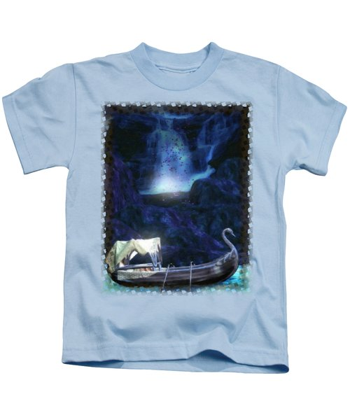 Faerie Cavern  Kids T-Shirt by Sharon and Renee Lozen